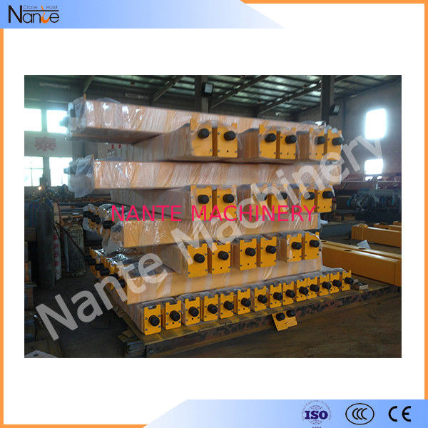 Softing Start Motor Steel Crane End Carriage Beam In Heavy Industrial